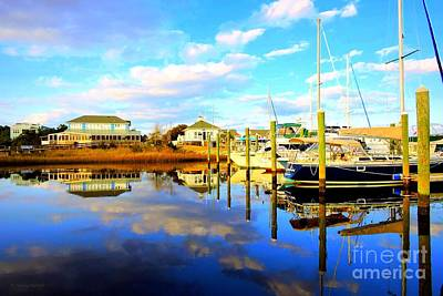 Photograph - Harbour Reflections by Shelia Kempf