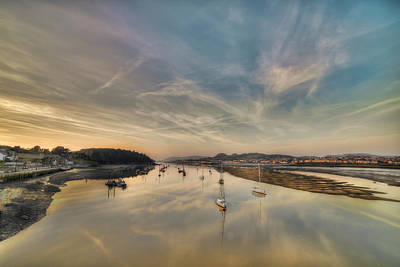 Photograph - Harbour Sunset by Darren Wilkes