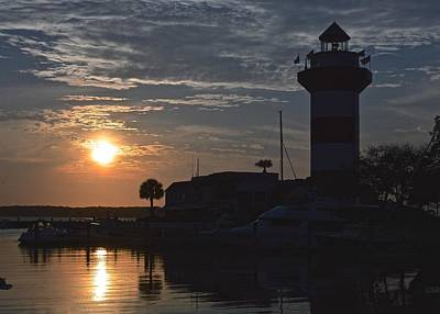 Photograph - Harbour Town At Sunset by Rita Mueller