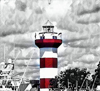 Photograph - Harbour Town Lighthouse by Tara Potts