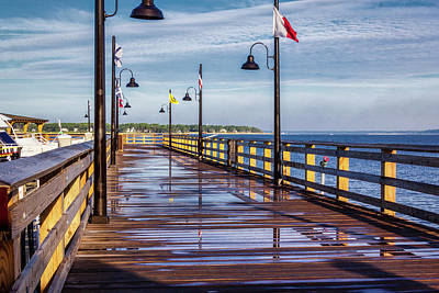 Photograph - Harbour Town Pier by Randy Bayne