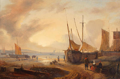 Painting - Harbour View by George Gillis Haanen