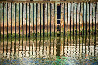 Photograph - Harbourflection by WB Johnston