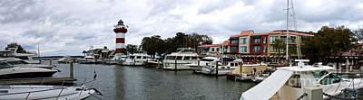 Bath Time Rights Managed Images - Harbourtown Marina Panorama Royalty-Free Image by Thomas Marchessault
