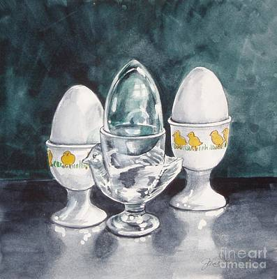 Painting - Hard Boiled by Jane Loveall
