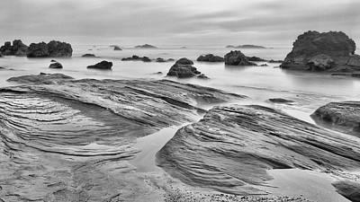 Photograph - Hard Pan by HW Kateley