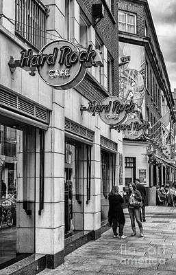 Photograph - Hard Rock Cafe, Dublin by Jim Orr