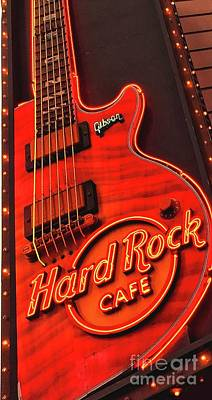 Photograph - Hard Rock Cafe by Joseph J Stevens