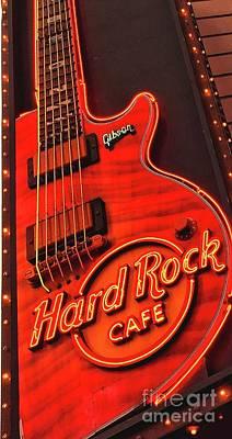 Photograph - Hard Rock Cafe by Joseph J Stevens