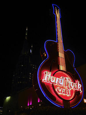 Photograph - Hard Rock Cafe by Kelly E Schultz
