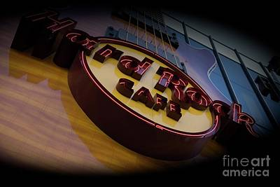 Mixed Media - Hard Rock Cafe Las Vegas by Bob Pardue