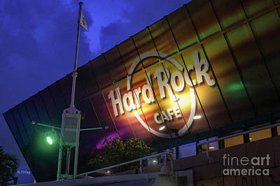 Photograph - Hard Rock Cafe Miami by Rene Triay Photography