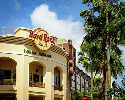 Photograph - Hard Rock Cafe by Michael Scott