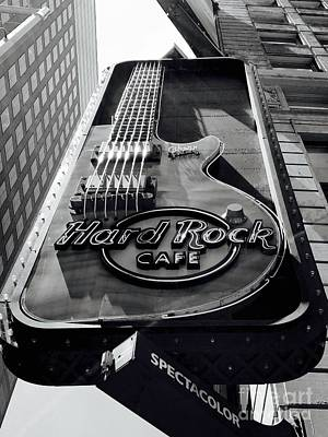Suggestive Photograph - Hard Rock Cafe by Mioara Andritoiu