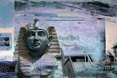Mixed Media - Hard Rock Cafe Myrtle Beach by Bob Pardue