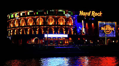 Photograph - Hard Rock Cafe Universal Studios Florida by David Lee Thompson