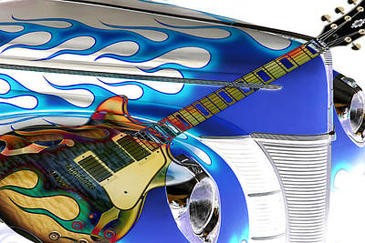 Photograph - Hard Rock Hot Rod by Steve McKinzie