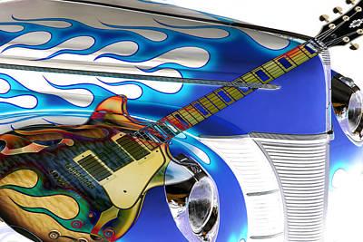 Hot Rod Photograph - Hard Rock Hot Rod by Steve McKinzie