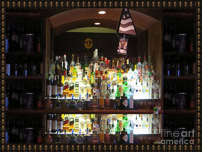 Photograph - Hard Rock Hotel Bar Photography Atalantic Shore Beaches Boardwalk Hardrock Centre Photography By Nav by Navin Joshi