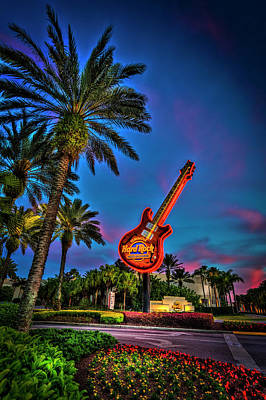 Hard Rock Art Print by Marvin Spates