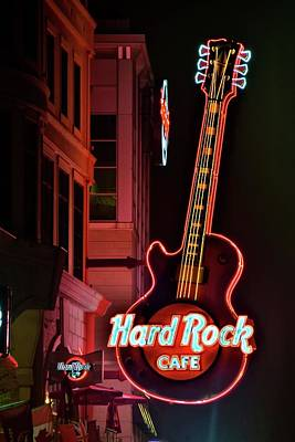 Photograph - Hard Rock Red by Frozen in Time Fine Art Photography