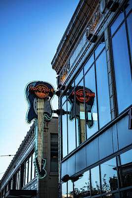 Photograph - Hard Rock Reflection by Anthony Doudt