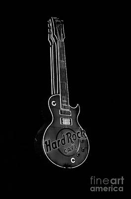 Photograph - Hard Rock Sign by Louise Magno
