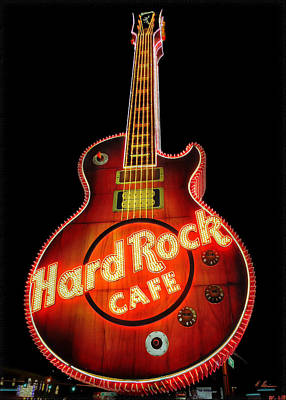 Photograph - Hard Rock Zone by Hanny Heim