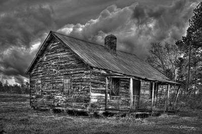 Photograph - Hard Times Black And White Art by Reid Callaway