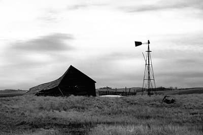 Rural Art Photograph - Hard Times  by Jeff Swan