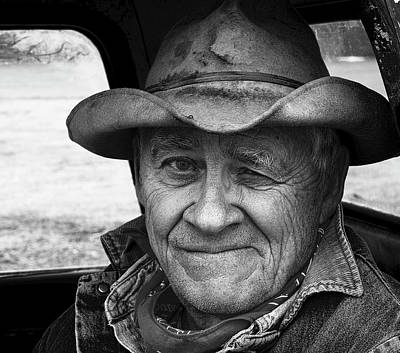 Ranch Life Photograph - Hard Times by Ron  McGinnis
