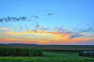 Photograph - Hardin Set by Bonfire Photography
