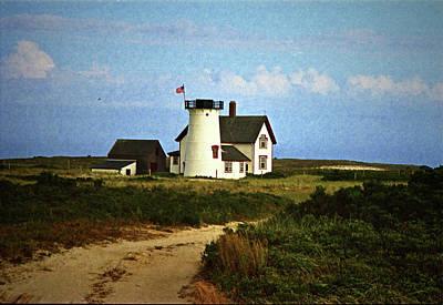 Photograph - Harding Beach Lighthouse by Ira Shander