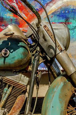 Harley Davidson - American Icon II Art Print by Bill Gallagher