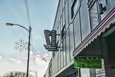Photograph - Hardware Sign Lenoir City by Sharon Popek