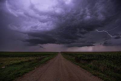 Lightning Photograph - Hardwired by Aaron J Groen