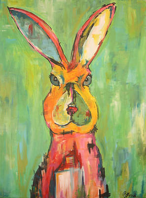 Painting - Hare by Amy Brock