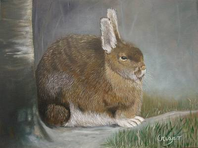 Painting - Hare by Jean Yves Crispo