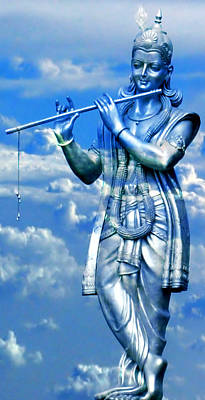 Kali Digital Art - Hare Krishna by Bliss Of Art