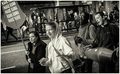 Photograph - Hare Krishna  by Stewart Marsden