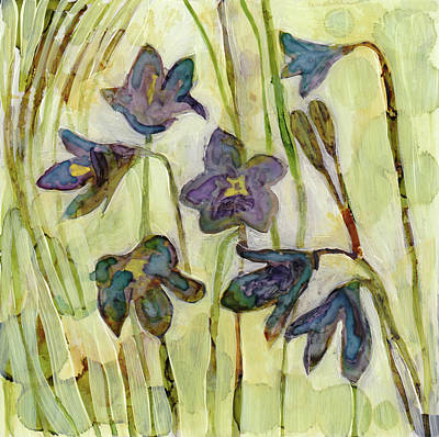 Painting - Harebell by Julie Maas