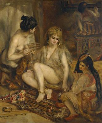 Painting - Harem by Auguste Renoir