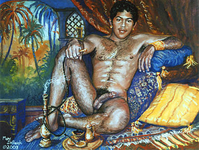 Painting - Harem Boy by Marc DeBauch