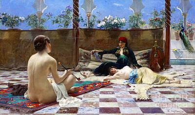 Harem Girls 1893 Art Print by Padre Art