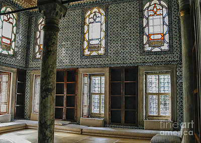 Window Bench Photograph - Harem In Topkapi, Istanbul by Patricia Hofmeester