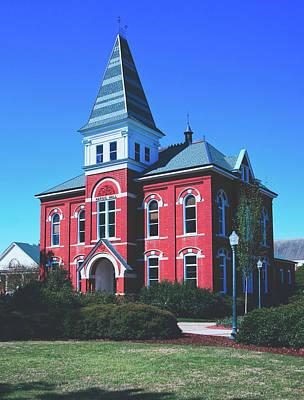 Photograph - Hargis Hall - Auburn University by Library Of Congress