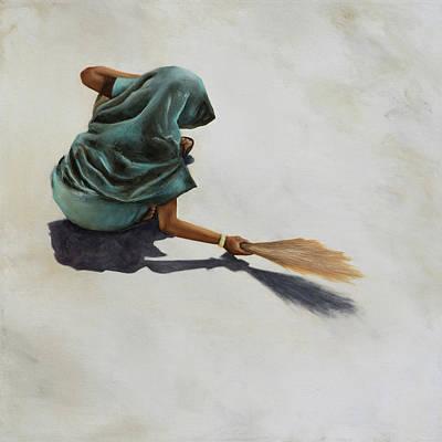 Painting - Harijan by Nicole Daniah Sidonie