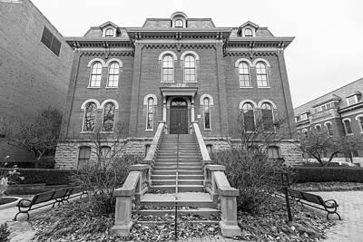 Photograph - Harker Hall University Of Illinois  by John McGraw