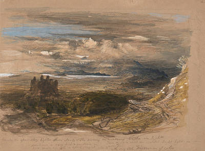 Painting - Harlech Castle by Samuel Palmer