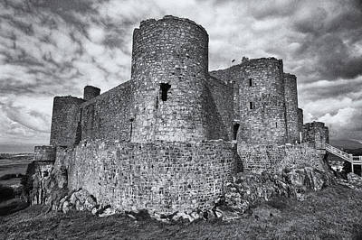 Photograph - Harlech Castle, Wales by Jeremy Voisey
